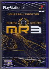 Ps2 Megarace 3 Nanotech Disaster (2002) UK PAL & Sony Factory