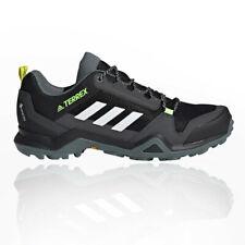 adidas Mens Terrex AX3 GORE-TEX Walking Shoes Black Sports Outdoors Waterproof