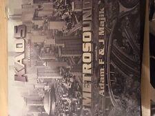 "Adam F & J Majik – Metrosound 12"" Drum and Bass Vinyl Kaos Recordings 2002 D&B"