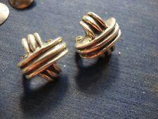 925 Sterling Silver Earrings Zina Ultra Rare Estate