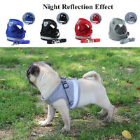 Dogs Harness Medium Small Breed New With Breathable Mesh Padded Pet Chest Strap