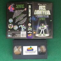 BUZZ LIGHTYEAR TOY STORY - VHS Walt DISNEY Pixar (ITA 2001) VS 4856