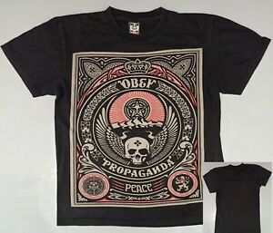 Very Rare & Official T-Shirt OBEY PROPAGANDA : Peace (S)