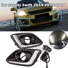 LED DRL Daytime Running Light Driving Fog lamp for Suzuki Swift 2014 2015 2016