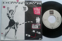 "Petula Clark / Downtown '88 / Downtown (Original Version) 7"" Single Vinyl 1988"