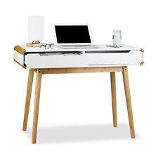 Schreibtisch mit Schubladen, Beistelltisch, Computertisch, Bürotisch, Sekretär