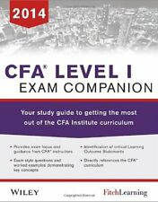 Cfa level I Exam Companion: The Fitch Learning / Wiley Stud. by Fitch Learning