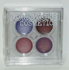 JORDACHE 4 Color Lip Gloss In Sealed Compact PINKS & PURPLES