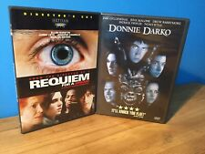 Requiem for a Dream (Director's Cut) & Donnie Darko | Dvd Lot of 2 | Set