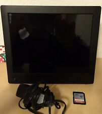 """NIX Digital Frame 8"""" Inch Widescreen (Missing Remote) with Sandisk 16GB SD Card"""