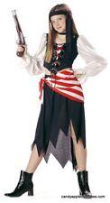 Pirate Girl Halloween Costume -- Play -- Girls Size 8-10 -- Pirates of the Carri
