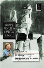 Drawing Gesture in Charcoal & Pastel by Craig Nelson - Art Education DVD