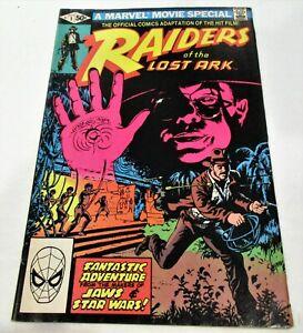 MARVEL COMICS RAIDERS OF THE LOST ARK # 1 MARVEL MOVIE SPECIAL! NICE FINE COPY!