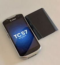New listing 1 Zebra Tc57Ho Android Mobile Barcode Scanner + 1 Extra Battery (Already Reset)