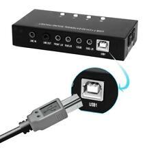 USB External Virtual 7.1 CH 3D Digital Audio Sound Card PC Converter Adapter