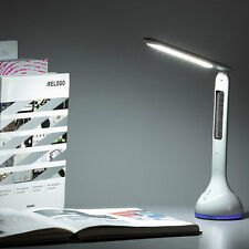 LED Touch Dimmer Desk Lamp USB Rechargeable Student Study Reading Lamp OK