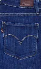 Levis Demi Curve Skinny Boot Dark Wash Blue Jeans Size 27