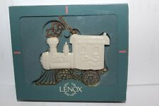 Lenox Ornament - 1994 Gold Train Locomotive - Ivory & Gold