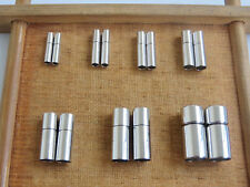 Stainless Steel Bayonet Clasps For 2mm/2.5mm/3mm/4mm/5mm/6mm Leather Cord