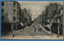 CPA: Alençon - Rue Saint-Blaise / 1915