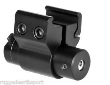 Compact Pistol Rifle Rail Mount Red Laser Dot Sight For GLOCK SIG 9 40 45 ACPRLS