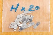 Case clamp mounting tab H (6.8x2.2mm) 20 pieces for ETA Valjoux movements