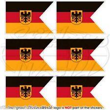 Deutschland marine fähnrich flagge deutsche fahne pratique mini-aufkleber 40mm x6