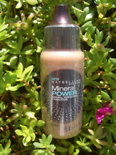 2 MAYBELLINE MINERAL POWER  NATURAL PERFECTING MICRO-MINERALS FOUNDATION, TOFFEE