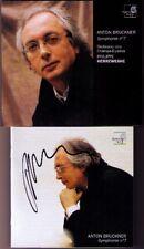 Philippe HERREWEGHE Signed BRUCKNER Symphony No.7 Champs Elysées CD