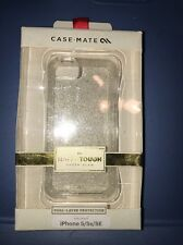 NEW Case-Mate Naked Tough Sheer Glam Case for iPhone 5 / 5s / SE - Champagne