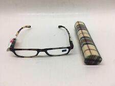 Peepers +3.00 Andiamo-Tan Plaid Reading Glasses