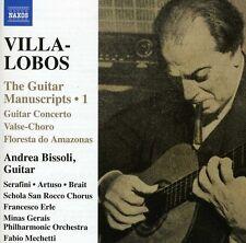 Andrea Bissoli, H. Villa-Lobos - Works for Guitar 1 [New CD]