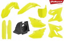 Restyle KIT IN PLASTICA YAMAHA YZ 125/250 2002 - 2018 FLUO/GIALLO FLUORESCENTE