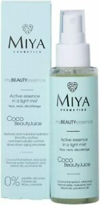 Miya Cosmetics Coconut Light Active Face Mist Hyaluronic Acid  & Anti Ageing