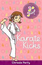 Karate Kicks (Go Girl)-ExLibrary