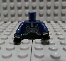 LEGO KENDO MINIFIGURE TORSO DARK BLUE CHEST ARMOR BLACK BELT NINJA NEW