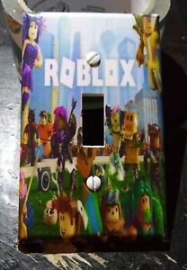 Custom Handmade Roblox Style Two - Single Toggle Light Switch Cover - Many Avail