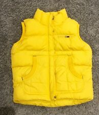 Tommy Hilfiger Women's Vintage Gilet in Bright Yellow S