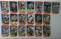 1991 Pacific Detroit Lions Team Set of 19 Football Cards