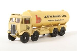 EXCLUSIVE FIRST EDITIONS OO SCALE (1:76) - E 10602 A.E.C.MAMMOTH TANKER J&H BUNN