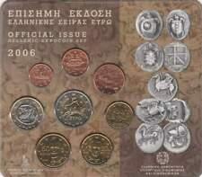 Griekenland BU set 2006 / 1 cent - 2 euro KMS