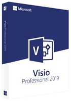 Microsoft Visio 2019 Professional FOR 1 PC GENUINE  Visio 2019