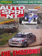 Autosprint n°11 1990 Lancia Delta HF Integraòle Miki Biasion - Audi V8 Gr.A [P8]
