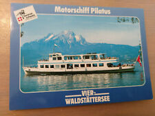 Postkarte Passagierschiff  Pilatus Vierwaldstättersee  ungel_