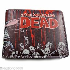 New The Walking Dead Wallet Zombie Tattoo Billfold Leather