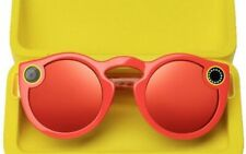 Snapchat Spectacles Glasses Coral With Receipt BRAND Unopened
