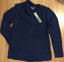 Pull DKNY Femme t. S /M Bleu Neuf Authentique