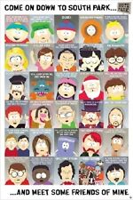 SOUTH PARK CHARACTER CHART (LAMINATED) POSTER (61x91cm) NEW LICENSED