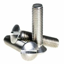 M2.5 ( 2.5mm ) Stainless Steel Raised Slotted Countersunk Machine Screws DIN964
