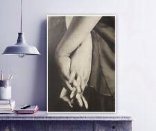 "Emmanuel Sougez ""Dora Maar's Hands"" Vintage Photography, Print / Modern / Art"